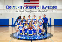 CSD MS Women's JV BBall